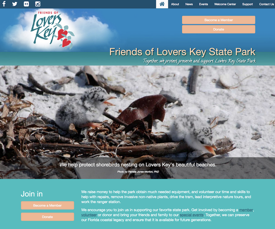 Friends of Lovers Key State Park